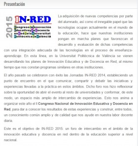 INRED 2015